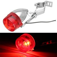 Aluminum Vintage Classic Bicycle LED Rear Tail Light Steel C...
