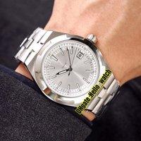 Nouveau pas cher outre-mer 4500V / 110A-B126 cadran blanc A2813 Montre pour homme automatique Date Bracelet en acier inoxydable 316L Montres de haute qualité 7 couleur