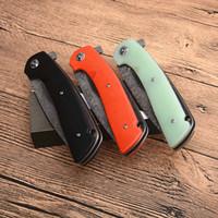 3 ручки Цвета Damascus Flipper складной нож VG10-Damascus стальной лезвие G10 ручка на открытом воздухе спасательные ножи выживания