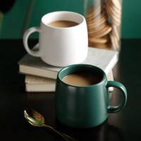 Keramik-Tasse setzt verglast Kaffeetasse blau Nordmilch Wasser trinken Haushalt multi Farben Tee Europa Stil mit Griff