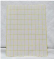 PKQ 15 levha Kendinden yapışkanlı fiyat etiketi Boş beyaz Çıkartma Küçük yazma Adı kağıt etiket etiket Etiketler
