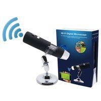 2019 Amazon Vente chaude 1080P 2MP Wifi Digital Microscope Microscope électronique USB Zoom 1000x