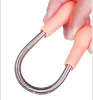 High quality 100pcs Facial Hair Remover Removal Stick Threading Epistick Epilator Spring Wholesale & Retail