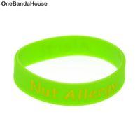 1 stück Alert Nut Allergy Silikonarmband für Kinder großartig, um in der Schule oder in den Outdoor-Aktivitäten zu verwenden