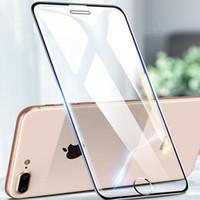 Protector Screen Saver completa completa Colla curvo vetro temperato per iPhone Pro 11 Max XR 8 7 6 Plus XS