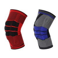 1pc Unisex Fitness Running Cycling Knee Support Brace Elasti...