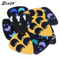 10 adet Akustik stratocaster gitar alır 0.71mm kalınlığı gitar askısı Guitarra Parçaları ukulele Aksesuarları