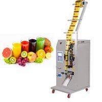 400W líquido máquina de embalagem da máquina de selagem automático de medição electrónico tempero quantitativa molho de soja vinagre máquina de enchimento