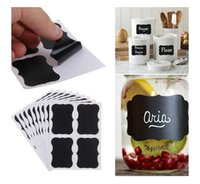 NEW 36x Chalkboard Blackboard Chalk Board Stickers Craft Kit...