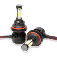 200Pcs / Lot 100pair AUTO Led 50W H7 H11 9005 9006 H4 Auto 12v Scheinwerfer H4 9004 9007 H13 9012 LED-Licht 6500K