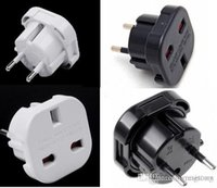 UK TO EU EUROPE EUROPEAN UNiVERSAL TRAVEL CHARGER ADAPTER PL...