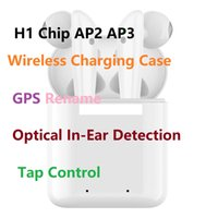 GPS Rename AP2 AP3 Mini TWS Bluetooth Earbuds H1 Chip Wirele...
