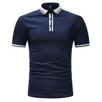 A maniche corte T-shirt di usura esplosivo tempo libero serie plain-colore di grande formato degli uomini