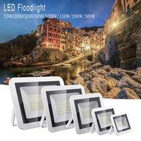10W-200W IP66 водонепроницаемый Светодиодный прожектор Прожектор лампы Рефлектор Открытый Супер яркий Открытый свет работы свет сада AC 110V / 220V