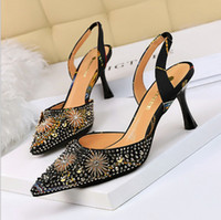 Hot Sale- women' s shoes high heel shallow mouth pointed...
