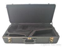 حالة ساكسفون / صندوق للألتو تينور (مستقيم، منحني) سوبرانو ساكس الآلات الأسود PU الجلود حالة شحن مجاني