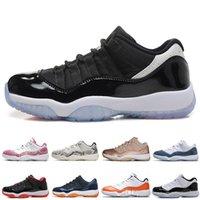 أحذية كرة السلة 11s Low تحت الحمراء 23 ولدت 11 امرأة يتسللن أحذية رياضية رمادية اللون