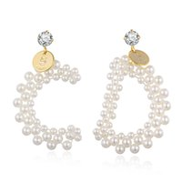 Hongye Female Drop Earrings Natural Pearl Wedding Accessorie...