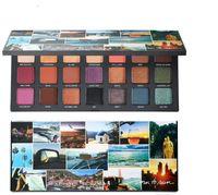 Бесплатная доставка New Hot Makeup Palette Born To Run Тени для век палитра 21 цвета глаз тени хорошего качества
