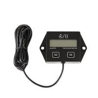 Dijital Motor Tach Saat Metre Takometre Ölçer Motosiklet Motor Deniz Tekne Motor kıvılcım sensörü Için Endüktif Ekran
