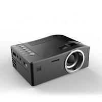 UCIC UC18 Mini LED UC 18 Projetor Portátil Pocket Projectores Multi-Media Player Jogo Home Theater Suporta USB TF Beamer 1 PCS