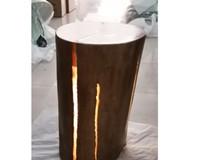 Ahşap masa lambası led döşeme ışık fabrika toptan yılbaşı ağacı çatlak aydınlatma hızlı teslimat komodin luce