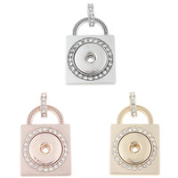 JaynaLee Metal Ginger Snaps Pendants Jewerly without Chain F...