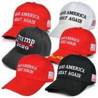 Donald Trump Cap 16 Styles Trump 2020 Hat Make America Great Again Baseballmütze Outdoor-Sommer-Strand-Hüte OOA6847