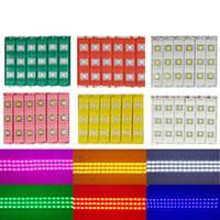 Светодиодный модуль свет лампы SMD 5730 водонепроницаемые модули для подписи букв Светодиодная подсветка SMD5730 3 светодиодные 1.2W 150lm DC12V