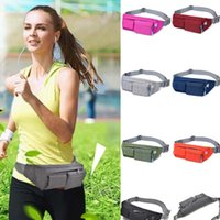 (A448X) Waist Pouch Zip Bags Waterproof Running Belt Camping...