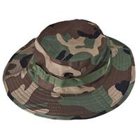 Unisex 2020 Canvas Bucket Hat Boonie Caça Pesca Outdoor Grande Cap borda com alta qualidade Hot Sale #YJ