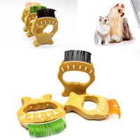 حار بيع الحيوانات الأليفة القط الكلب طويل كثيف الفراء قصير الشعر تسليط إزالة التهيأ الخليع مشط فرشاة