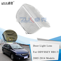 Zuk Brand New Car Styling Door Light Lens Looking Light Lamp House Cap Cover Shell For HONDA ODYSSEY 2005-2013 RB1 RB3 ACCORD 2014-2017