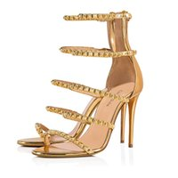 Rivet Style Female Sandals High Heels Summer Casual Party Sh...