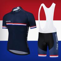 Новая команда Нидерланды Синий Велоспорт Джерси Индивидуальные Дорожные Горные гонки Максимальный Шторм Джерси Ciclismo Велоспорт Наборы