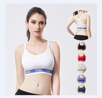 805b3ded19 English Letter Can Adjust Straps Motion Bras Motion Bodybuilding Underwear  Yoga Beautiful Back Tube Top Wrap Chest