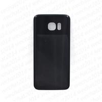 1000 ADET Pil Kapı Arka Konut Kapak Cam Kapak Yapıştırıcı ile Samsung Galaxy için S6 Kenar S7 Kenar G930F G935F S8 S9 Artı G950F G960F