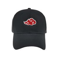 Anime Naruto Akatsuki Cap Man Woman Dad Hip- hop Outdoor Cosp...