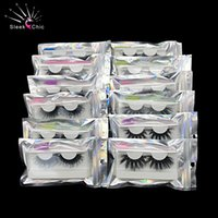 Mink Ciglia 25 millimetri Lashes visone all'ingrosso 20/30/40 Ciglia magnetici Bulk mano False Packaging Scatole 5D Lashes