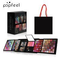 Make Up Kit 177 Цвета Профессиональные Eyeshadow Palette Concealer Помада Брови порошок с щеткой Косметика Женщины набор для макияжа
