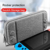 Per Nintendo Switch Consolle Caso Durable Game Scheda di stoccaggio Sacchetto di stoccaggio per il trasporto di Eva Hard Borsa Sahell Portable Portable Pouch Possitore Cyberstore