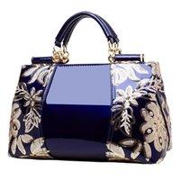 HBP جديد براءات الاختراع الجلدية حقيبة كتف أزياء 2021 حقيبة المرأة النمط الأوروبي والأمريكي حقيبة يد لامعة