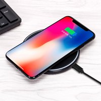 Universal Qi Wireless Charger fast Charging Pad seat For iPh...