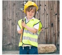 Kinder Warnweste Verkehrssicherheit Kleidung Kinder reflektierende Kleidung Kindersicherheit Schutzkleidung Sicherheitsweste