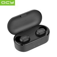 소매 상자 QCY QS2 / T1S / T2S TWS 블루투스 5.0 헤드셋 게임 헤드폰 3D 스테레오 스포츠 무선 이어폰 이어폰 듀얼 마이크