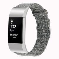Band Watch для Fitbit Charge 2 Brap Canvas Дышащий замену Браслетом для Fitbit Charge 2 Correa Fitbit Watch 64002
