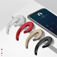 Y-12 Sport sans fil Bluetooth écouteurs stéréo casque casque Bluetooth os Conduction bouchons d'oreilles Pas avec micro pour iPhone Samsung x 8 Plus