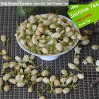 Оптовая хорошее качество 100г Натуральный Свежайшая Жасмин Цветочный чай Organic Food Health Care Natural Органический чай