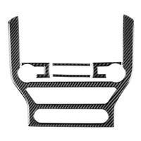 pour Ford Mustang Carbon Fiber Car-Styling autocollants et décalcomanies Panneau de configuration centrale Garniture intérieure Couverture 2020-2020 Accessoires