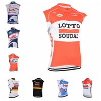 5b98834e1 LOTTO Soudal team Cycling Sleeveless jersey Vest Bicycle Clothing Bike Wear  Clothes Summer Explosion models hot new A18
